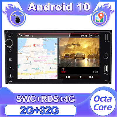 AU224.23 • Buy 7''Car Stereo Android 10 For Toyota Hilux Land Corolla Camry GPS Head Unit 4G BT