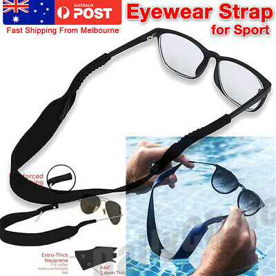 AU4.73 • Buy Sunglasses Strap Sports Band Reading Glasses Neck Cord Neoprene Eyewear Blue
