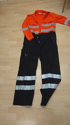 £14 • Buy Ladies Or Mens Safety Proban Use Orange Colour Boilersuit Or Overalls.
