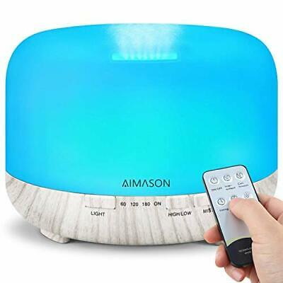 AU55.33 • Buy Essential Oil Diffuser, AIMASON 500ML Diffusers For Essential Oils, Aromatherapy