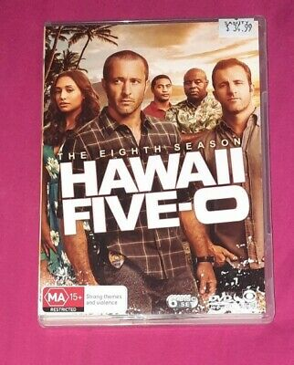 AU18.50 • Buy Hawaii Five-o 5-0 Season 8 Dvd, Like New - Free Post