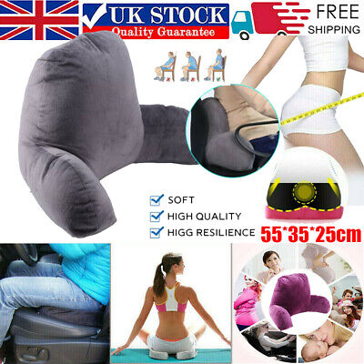 £10.89 • Buy Seat Cushion For Back Pain Memory Foam Office Car Chair Lumbar Support Relief UK