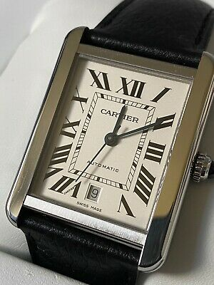 View Details Cartier Tank Solo XL Automatic Mens Watch With Box And Papers Rrp £3,050 • 1,500.00£