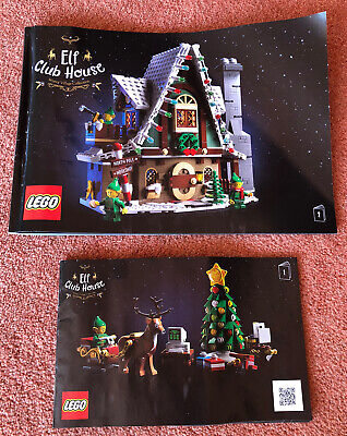 Lego Elf Club House (Winter Village Collection) Instruction Manual • 2.99£