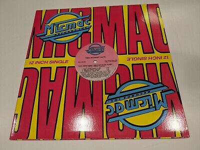 """TWO WITHOUT HATS  B.D.V. COUNT DOWN  Vinyl 12"""" SINGLE (Promo ; NM Disc) • 10.89£"""