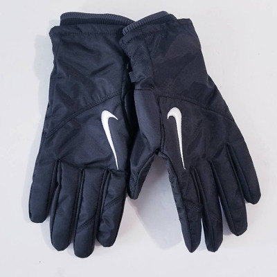 $27.99 • Buy Nike Coaches Sideline Cold Weather Football Gloves PGF332-001 Size M Black