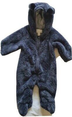 Little White Company Baby Boy All-in-one Pramsuit 0-3 Months • 5£