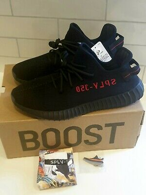 AU350 • Buy Adidas Yeezy Boost 350 V2 Black/Red Size US13 - Brand New With BOX Free Shipping