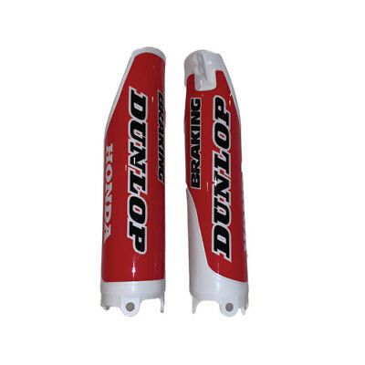 $19.95 • Buy  Honda Fork Guards CR125/250 CRF250/450 White W/Red Graphics 2004-2017