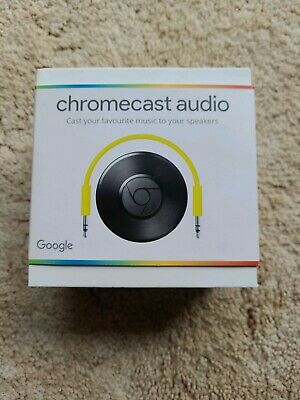 AU140 • Buy Google Chromecast Audio Media Streamer - Black