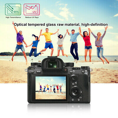 AU3.67 • Buy HD Clear Glass LCD Screen Protector Film For Sony ILCE-9/A6500/RX100 Camera E06