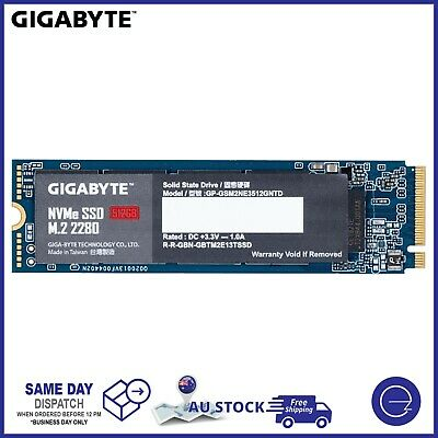 AU89 • Buy SSD M.2 NVMe 128G 256G 512G GIGABYTE 2280 PCIe Solid State Drive