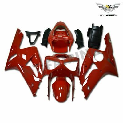 $539.99 • Buy CO Plastic Red Injection Mold Fairing Fit For Kawasaki 2003 2004 ZX6R 636 M012