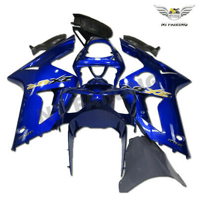 $539.99 • Buy CO Fairing Fit For Kawasaki 2003 2004 636 ZX6R Injection ABS Glossy Blue M010