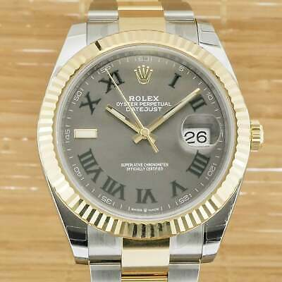 $ CDN20169.87 • Buy Rolex Datejust 41 'Wimbledon' -  Box And Papers March 2021