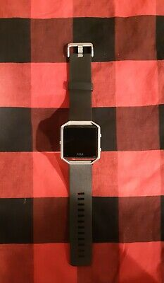 $ CDN73 • Buy Fitbit Blaze Smart Fitness Watch Large Black Very Good Condition Tested