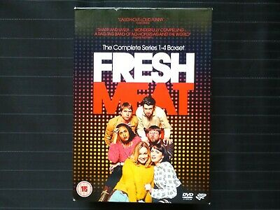 £20.99 • Buy Fresh Meat The Complete Series 1-4 DVD Box Set