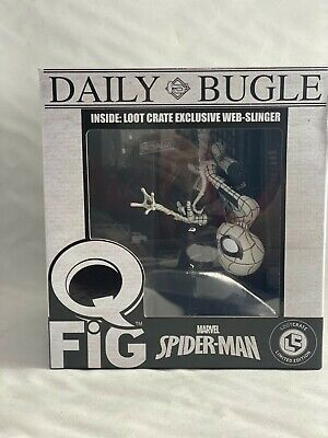 $ CDN18.80 • Buy Q Fig Marvel Spider-Man Daily Bugle Lootcrate Limited Edition 2017