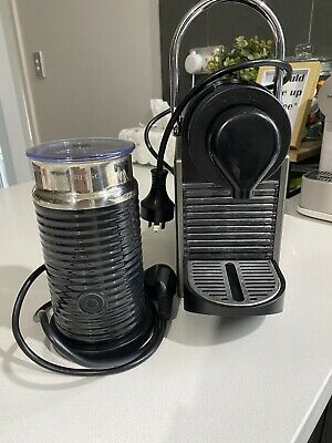 AU65 • Buy Nespresso Inissia Coffee Machine With Milk Frother, Black, Great Condition