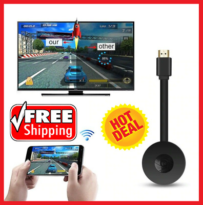 AU17.63 • Buy Chromecast 4th Generation 1080P HD HDMI Media Video Digital Streamer