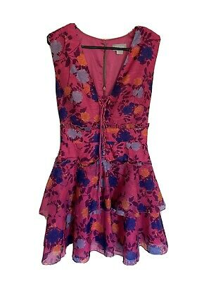 AU10 • Buy Finders Keepers Pink Floral Dress XXS