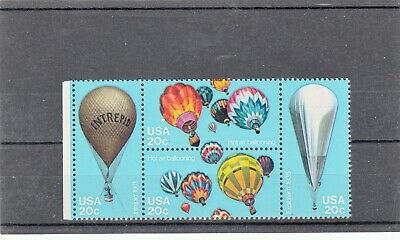AU2 • Buy US Stamps. Block Of 4.Balloons.