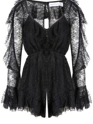 AU80 • Buy Alice McCall Size 10 Black Playsuit