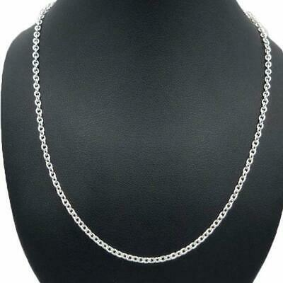 AU90 • Buy Sterling Silver Genuine Cable Chain