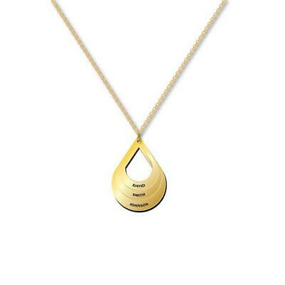 AU165 • Buy Water Drop Necklace Solid Gold Made In Australia