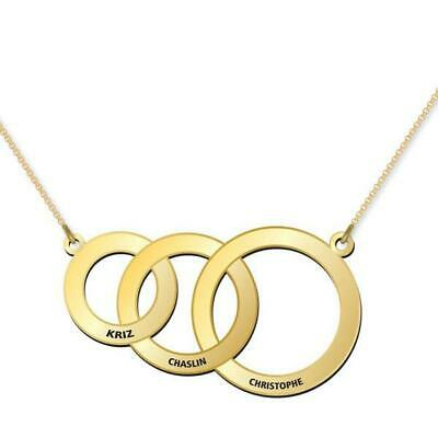 AU165 • Buy Three Elements Of Life Ring Necklace Made In Australia Solid Gold