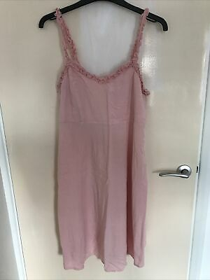 AU8.93 • Buy New Look Blush Pink Maternity Dress Size 10