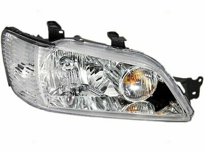 $115.77 • Buy Right Headlight Assembly Brock 9XXX17 For Mitsubishi Lancer 2002 2003