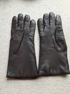AU53.99 • Buy Dents  Women's 100% Cashmere Lined Long Plain Leather Gloves Unwanted Xmas Gift