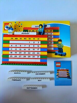 Lego Brick Calendar 853195 Used Complete Set With Box Instructions Minifgures • 10£