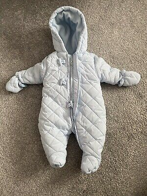 Mothercare Pramsuit Aged 0-3 Months • 0.99£