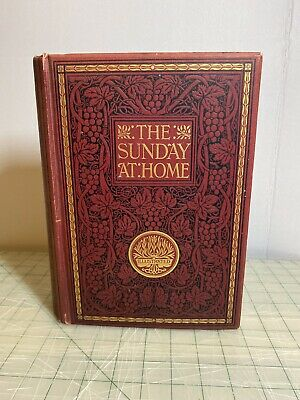 The Sunday At Home 1908-1909 Religious Tract Society -London • 31.82£