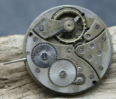£21.47 • Buy Cyma Tavannes Pocket Watch Movement FOR PARTS OR REPAIR Swiss (J2E)