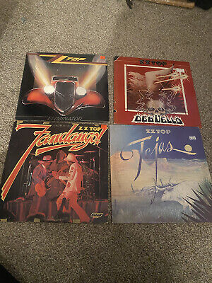 AU19.66 • Buy ZZ Top - Lot Of 5 Lp 1st Press Vinyl Tejas Eliminator