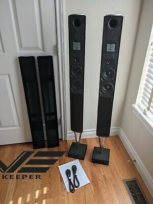 $1950 • Buy *** Bang & Olufsen MK2 BeoLab 8000 Black Silver Speakers GREAT Condition ***