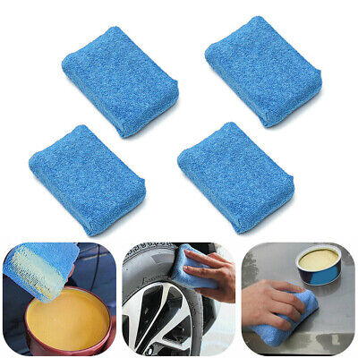 $6.41 • Buy Microfiber Terry Cloth Ceramic Applicator Sponge Pads Car Coating Wash Wax Parts