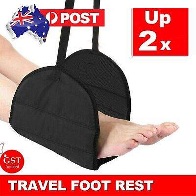 AU13.99 • Buy 1/2pcs Travel Foot Rest Footrest Leg Pillow Flight Memory Foam Cushion Hammock