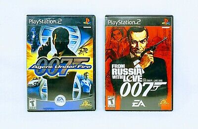 $18.85 • Buy James Bond 007 Agent Under Fire & From Russia With Love [lot Of 2] Ps2 Complete