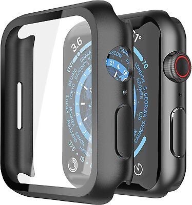 AU8.54 • Buy Apple Watch Series SE/6/5/4/3/2/ 360° Full Cover TPU Tempered Glass Case Cover