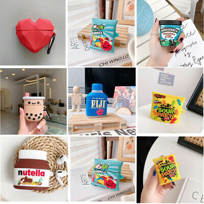 £7.04 • Buy Funny 3D Cute Lovely Red Heart Earphones Case For Apple Airpods 1 2 Pro