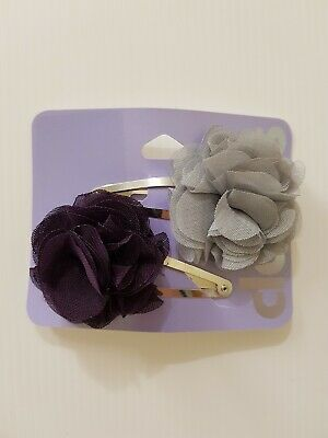 AU5.31 • Buy New Claire's Women's Girls Kids 2 Piece Hair Accessories Hair Clips