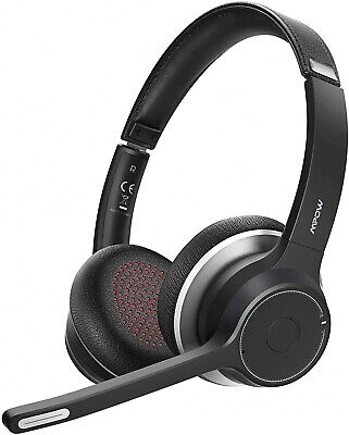 Mpow HC5 Bluetooth 5.0 Headset Wireless Headphones Hands-free Noise Cancelling • 34.99£