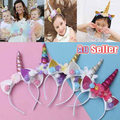AU9.88 • Buy Unicorn Headband Funny Cute Selling Children Halloween
