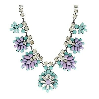 $ CDN32.33 • Buy QVC Joan Rivers Crystal & Opaque Jeweled Clusters Necklace SOLD OUT $170