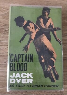 AU500 • Buy Richmond Tigers Football Legend, Captain Blood, The Jack Dyer Story Signed Book