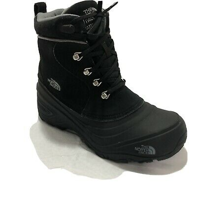 £28.73 • Buy North Face Youth Chilkat Lace Boys Black Boots Size 5